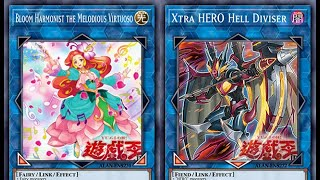 Konami Won't Give Up On Jaden !! Another New Hero Link Revealed !! New Melodious Link Monster