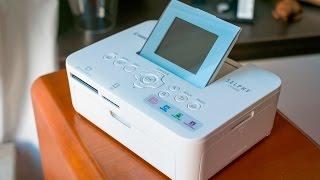 Canon SELPHY CP1000 Fotodrucker - Test & Erfahrungsbericht