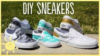 DIY   Lace Sneakers (Cute And Easy!!)