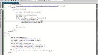 How To Get HTML Input Values Using jQuery