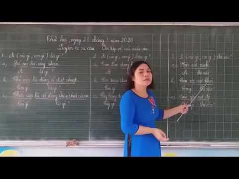 Luyện từ và câu: Ôn tập về các mẫu câu lớp 2 - GV: Phạm Thị Hằng - Trường TH Bách Thuận