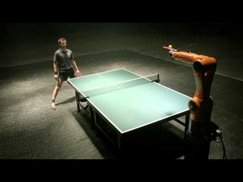 I Can't Wait To See This Robot Vs Human Ping Pong Match