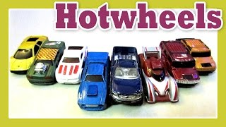 HOT WHEELS CARS - Kids Toys Collection, Hotwheels Toys Playtime by JeannetChannel