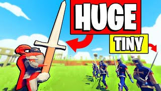 TABS - The LARGEST Sword The World Has Ever Seen - Totally Accurate Battle Simulator