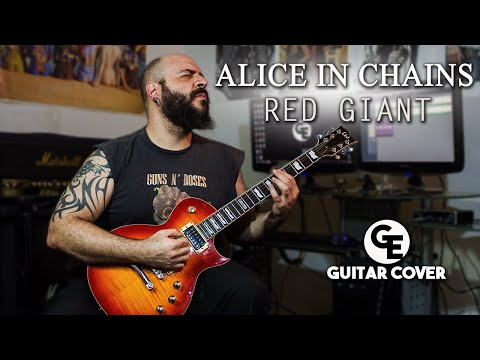 Alice in Chains - Red Giant - Guitar Cover