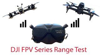 DJI FPV Goggles v2 Range Test : Air Unit vs FPV , Stock vs iFlight Stubbies vs iFlight Crystal HD