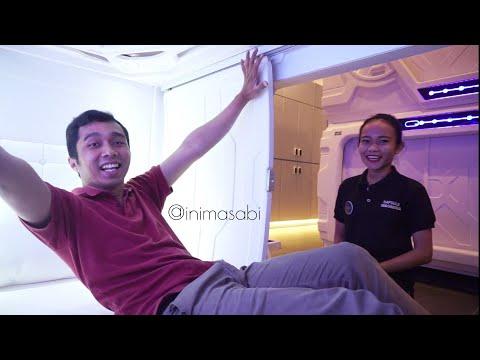 Akhirnya Jakarta Punya Hotel Kapsul dan JAUH LEBIH CANGGIH !!!!