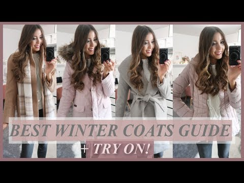 BEST WINTER COATS 2018   TRY-ON + COLLECTION