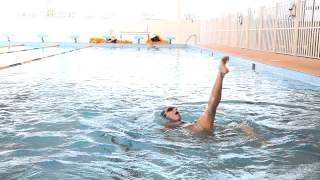 Synchronised swimming lessons in Dubai