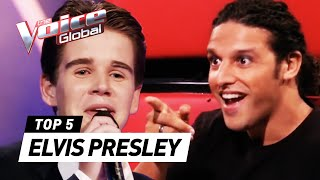BEST ELVIS PRESLEY Blind Auditions in The Voice Kids