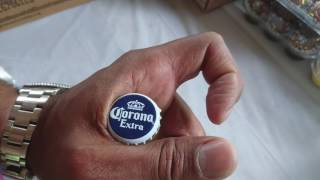 How To Open A Bottle With Your Hand (without A Bottle Cap Opener).  Example With Corona Beer