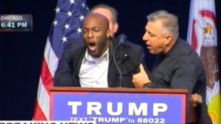 Protesters Shutdown Donald Trump Rally In Chicago!