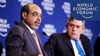 Meles Zenawi: Accelerating Infrastructure Investments (Africa 2012)