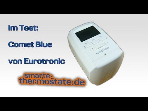 Smart Home Test: Heizkörperthermostat Comet Blue, Heizkörperthermostat mit Bluetooth statt Wlan