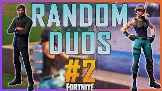 Fortnite - Random Duos #2 - May 2018 | DrLupo