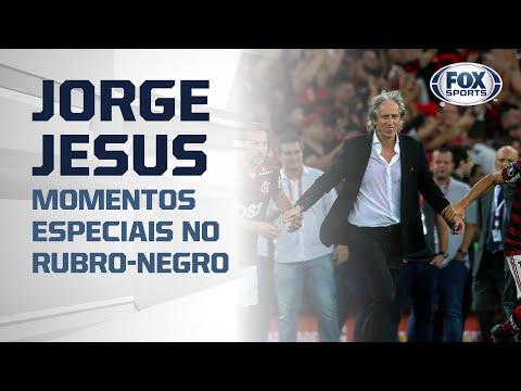 JORGE JESUS FICA NO FLAMENGO! Relembre momentos especiais do treinador no Rubro-Negro