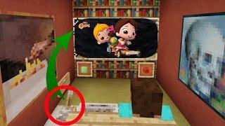 Minecraftta ÇALIŞAN MODSUZ TELEVİZYON YAPIMI Eğlenceli Video (Minecraft PE TV)