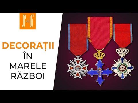 Decoratiile Romaniei in Marele Razboi