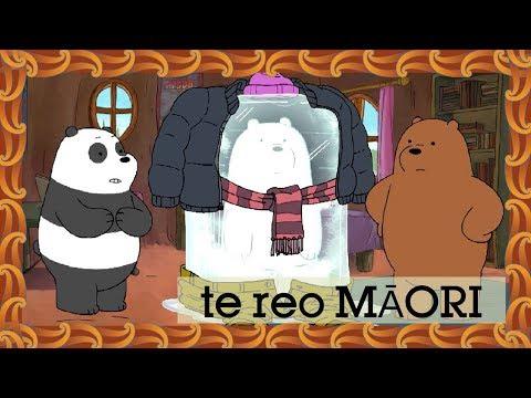 We Bare Bears | Frozen Ice (Māori) | Cartoon Network