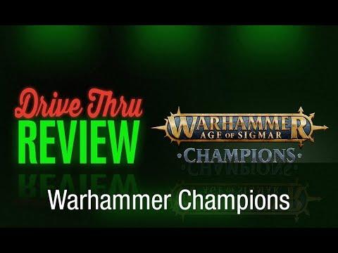 "[DriveThruReview] #626: ""Warhammer Champions Review"""