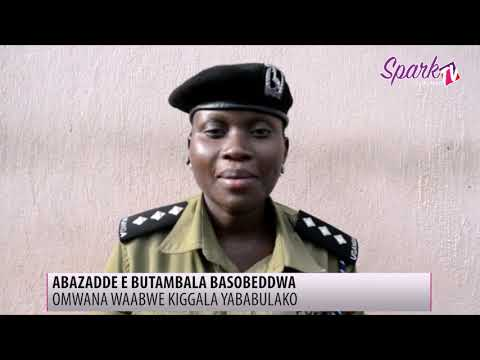Abazadde basobeddwa lwa mwana waabwe kiggala okubabulako