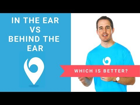 ITE vs BTE: In-the-ear vs Behind-the-ear Hearing Aids