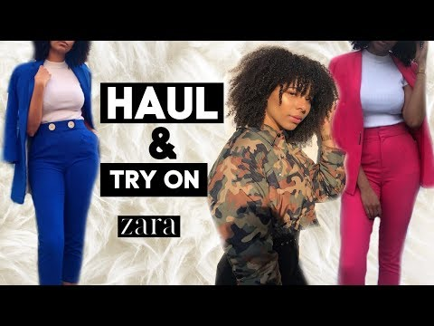 HAUL + TRY ON ZARA NOUVELLE COLLECTION 2019! l OCEANELEVENSTYLE l