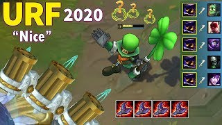 BEST ARURF PLAYS 2020 (URF Veigar Pentakill, URF Kindred 2v5...)