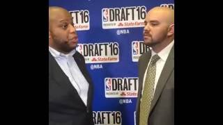 CBS Local Sports Brown & Scoop 2016 NBA Draft Facebook Live Chat With Moke Hamilton