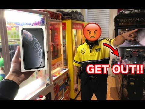 KICKED OUT FOR WINNING Apple iPhone XR!!! *banned*| JOYSTICK