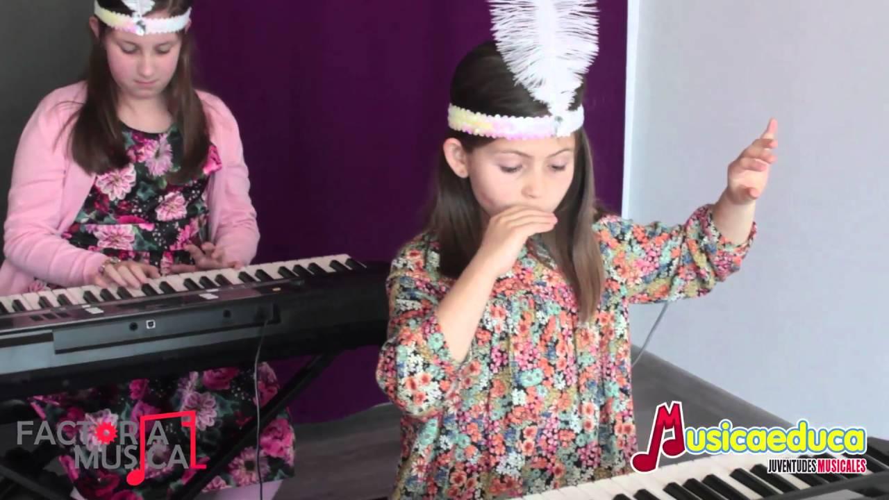 El vals del saltamontes - Grupo de alumnos de Mi Teclado 2 - Factoría Musical - Oviedo