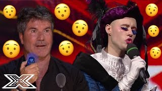 ECCENTRIC Contestants That SURPRISED The Judges | X Factor Global