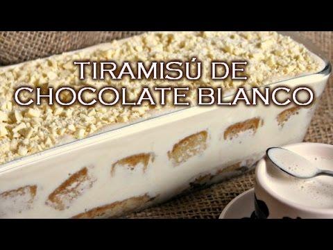 Cómo hacer Tiramisú de chocolate blanco | El Dulce Paladar