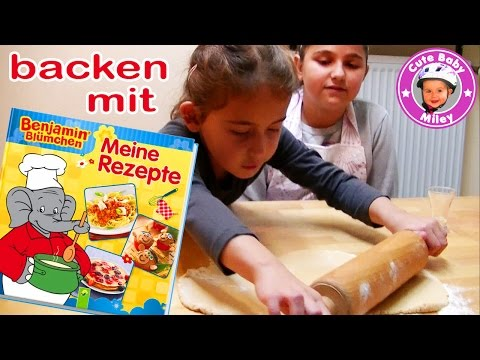 Wir backen leckere Kekse mit Benjamin Blümchen Meine Rezepte Kochbuch - Kinderkanal