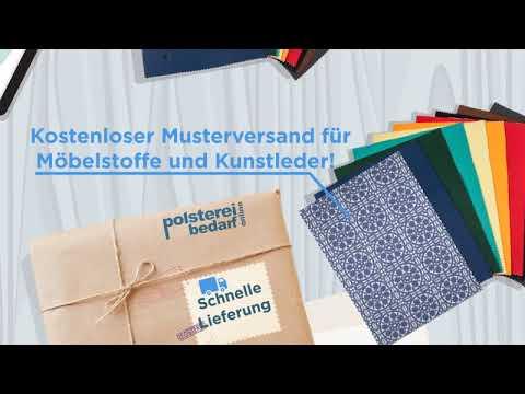 Landhaus Möbelstoff Messina Ornament Blau - polstereibedarf-online.de