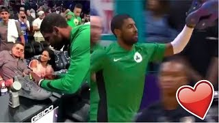 NBA Players Gives Fan A GAME WORN Sneakers 2018!