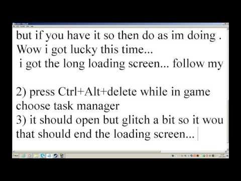 Outdoor Infinite Load Screen :: The Elder Scrolls V: Skyrim