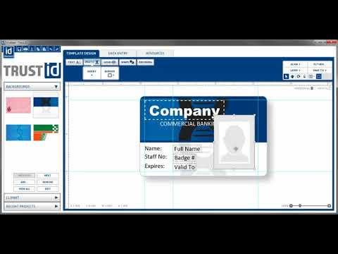 Magicard TrustID ID Card Design and Issuance Software video thumbnail