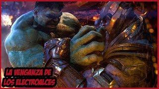 La Verdadera Razón por la que Thanos Venció a Hulk – Avengers Infinity War –
