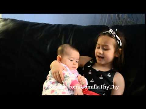 Bé CamillaThyThy hát hò cùng em LyLy