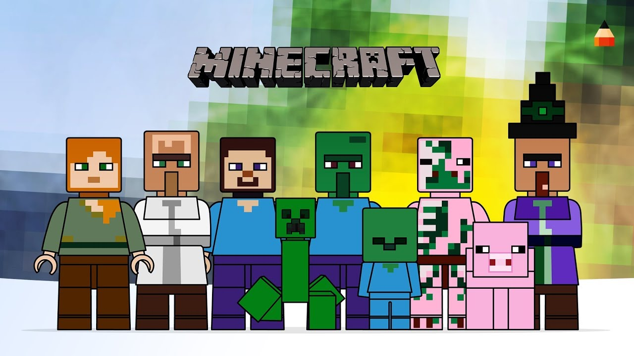 28+ Minecraft Drawing Game  PNG