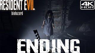 Resident Evil 7 Biohazard  Walkthrough Gameplay pt10  Ending 4K 60FPS HDR Madhouse