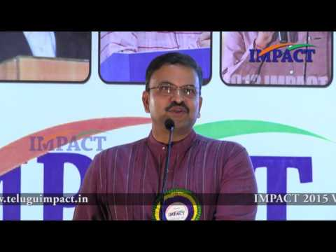 Parenting |JD Lakshmi Narayana| TELUGU IMPACT Vizag 2015