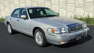 2010 Mercury Grand Marquis LS Ultimate For Sale at Specialty Motor Cars Lincoln Town Car Crown Vic