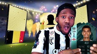 OMGG ANOTHER WALKOUT! ELITE 1 SQUAD BATTLE REWARDS - FIFA 18