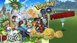 Horsea  - (Pokémon) - 🔴 En directo: HORSEA SHINY ACTIVADO + SPAWN ESPECIAL POR EL CHICAGO FEST 2019 en Pokémon GO