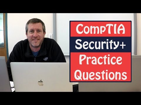 CompTIA Security Plus Exam Practice Questions SY0-401 - YouTube