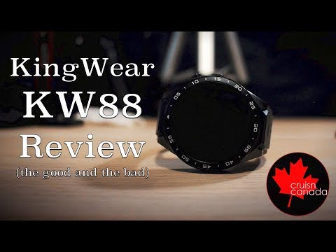 KingWear KW88 Review | The Pros and Cons of this Budget Smart Watch