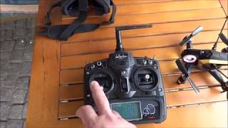 Walkera Rodeo 150 mini FPV Racing Drone, first free flight !