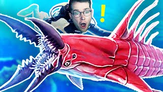 THE NEW LEVIATHAN ATTACKED ME! (Subnautica Below Zero)